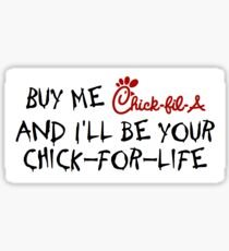Chick-fil-A Sticker