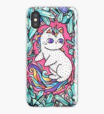 Unicorn  kitty iPhone Case