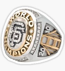 Giants World Series Ring Sticker