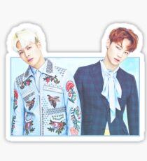 Jackson & JB Sticker