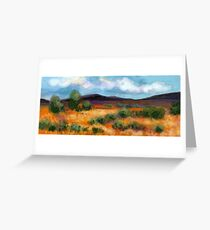Aussie Outback Greeting Card