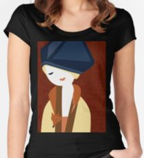 Russet Women's Fitted Scoop T-Shirt