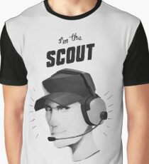 I'M THE SCOUT - Team Fortress 2 Graphic T-Shirt
