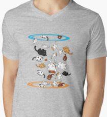 Neko Portals Men's V-Neck T-Shirt