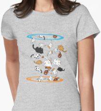 Neko Portals Women's Fitted T-Shirt