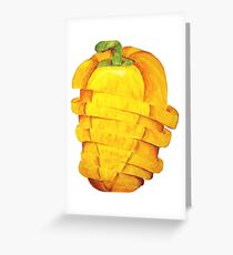 Pepper Greeting Card