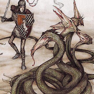 El príncipe Lir y el dragón de jessicagadra