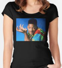 The Prince of Fresh Women's Fitted Scoop T-Shirt