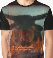 BULL FROM HELL Graphic T-Shirt