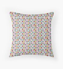 1st Gen Pokemon Badges Throw Pillow