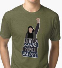 Super Sonic Punch - Cisco Tri-blend T-Shirt