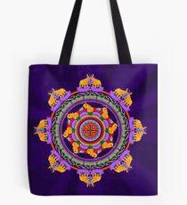 The Lu Mandala; Prosperity & Success Tote Bag