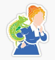 Frizzle > School Cutout Sticker