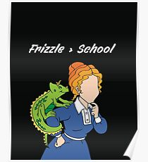 Frizzle > School Cutout Poster