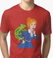 Frizzle Pattern Tri-blend T-Shirt