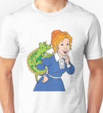 Frizzle Pattern T-Shirt