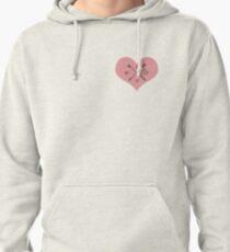 lovey heart   Pullover Hoodie