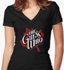 The Guess Who Women's Fitted V-Neck T-Shirt