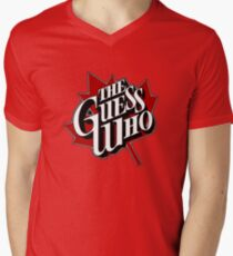 The Guess Who Mens V-Neck T-Shirt