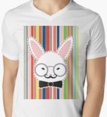 Rabbit Head with Glasses T-Shirt