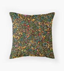 A Carpet of Butterflies  Throw Pillow