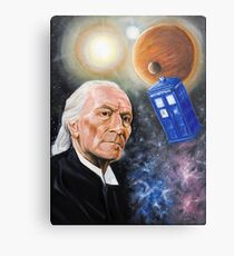 First Doctor Metal Print
