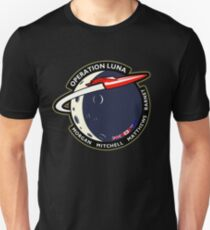 Journey Into Space - Operation Luna Mission Patch T-Shirt