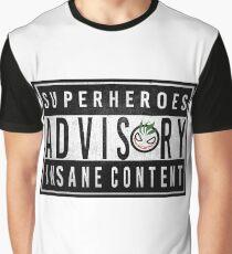 Advisory Graphic T-Shirt