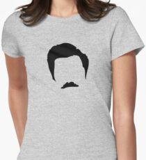 Ron Swanson Silhouette  T-Shirt