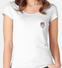 Prison Mike Mini Head Women's Fitted Scoop T-Shirt