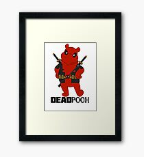 DEADPOOH! Framed Print