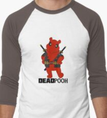 DEADPOOH! Men's Baseball ¾ T-Shirt