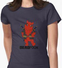 DEADPOOH! Womens Fitted T-Shirt