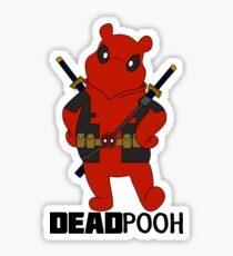 DEADPOOH! Sticker