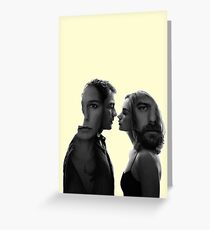 The Affair - tv series silhouettes Greeting Card