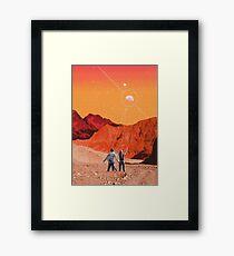 Mars Holidays Framed Print