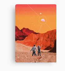 Mars Holidays Canvas Print