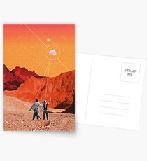 Mars Holidays Postcards