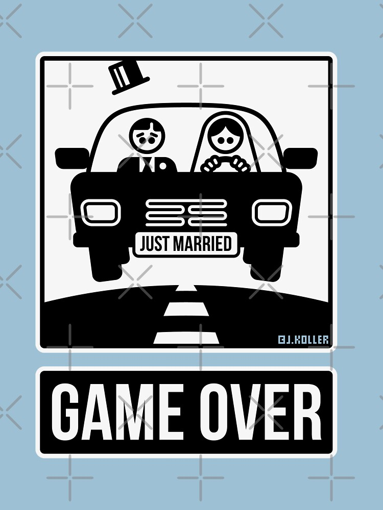 Just Married – Game Over (2C) by MrFaulbaum