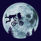 EXTREME TERRESTRIAL - ET BMX Skateboarding Alien Naza UFO Parodie von Tee Dunk