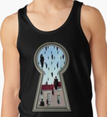 """""""Magritte from the lock"""" Tank Top"""