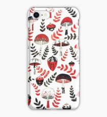 Magical Mushrooms & Acorns iPhone Case/Skin