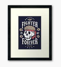 Fighter Forever Ryu Framed Print