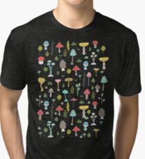 Mushrooms Tri-blend T-Shirt