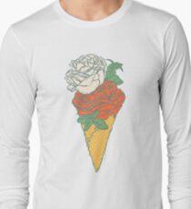Rose ice cream Long Sleeve T-Shirt