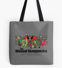 Usual Suspects Tote Bag