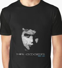 HR GIGER Graphic T-Shirt