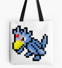 Pokemon 8-Bit Pixel Golduck 055 Tote Bag