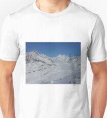 Aletsch glacier in Switzerland T-Shirt