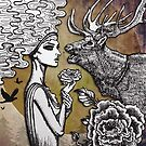 The Lonely Goddess by NADYA PUSPA